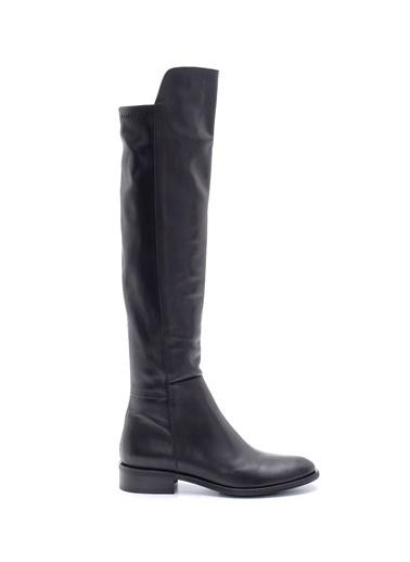 Derimod Kadın Çizme (216-3592) Casual Siyah